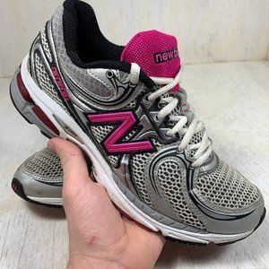 New Balance WR860KM Made in USA grey/pink